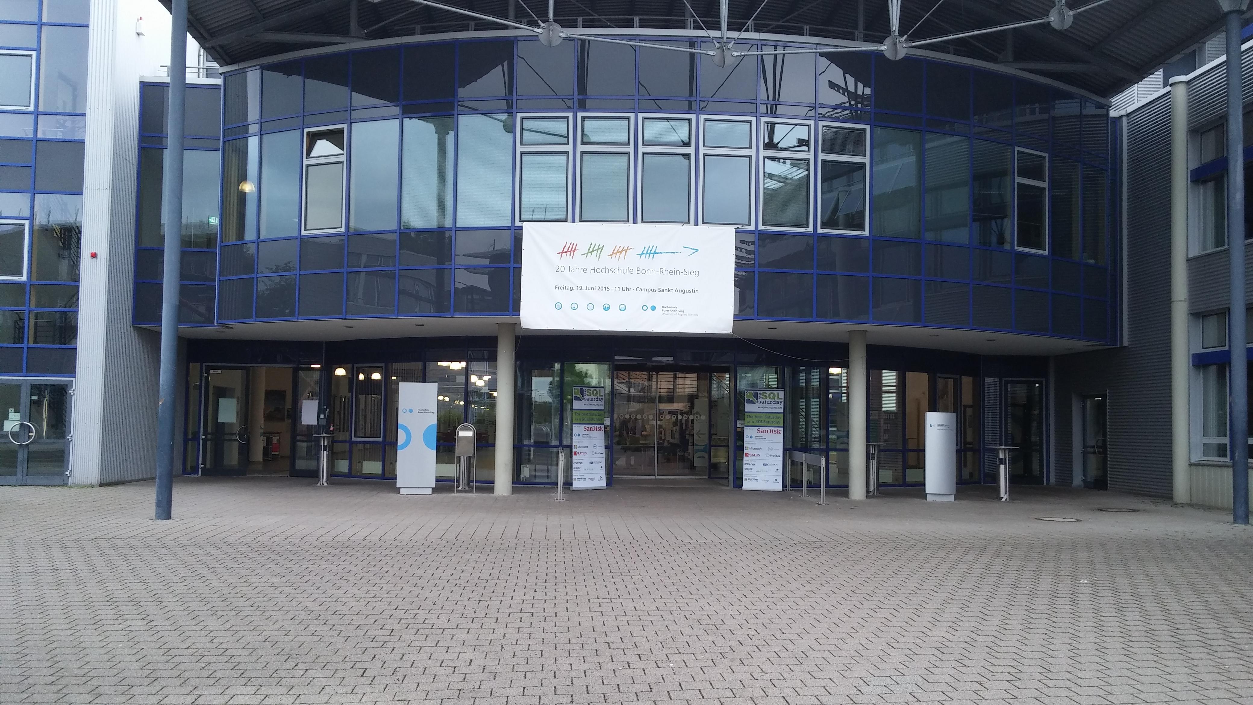 SQL Saturday #409 Hochschule Bonn-Rhein-Sieg