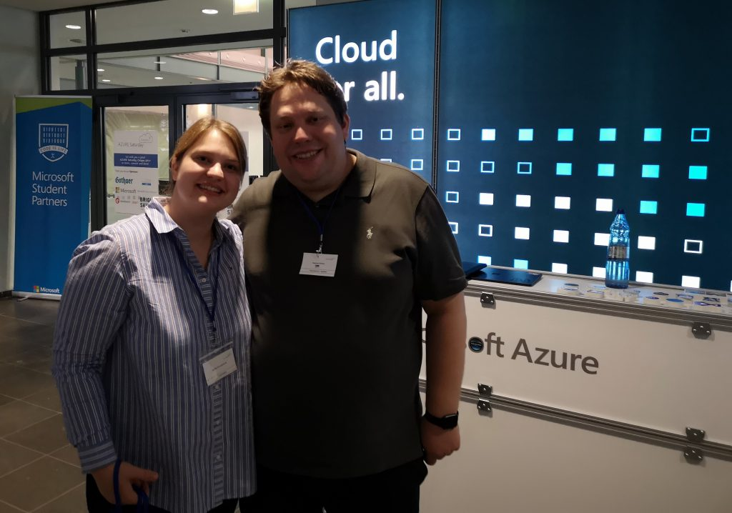 Azure Saturday Cologne Orga Raphael und JenniIMG_20191207_103939