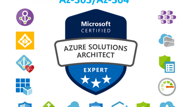 New Azure Exams Az-303 and Az-304 are available (replacement for Az-300/301)